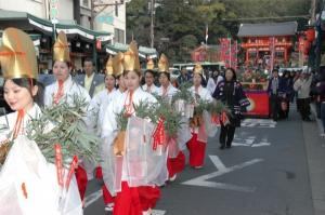 蛭子社祭 祇園えべっさん福娘」の募集